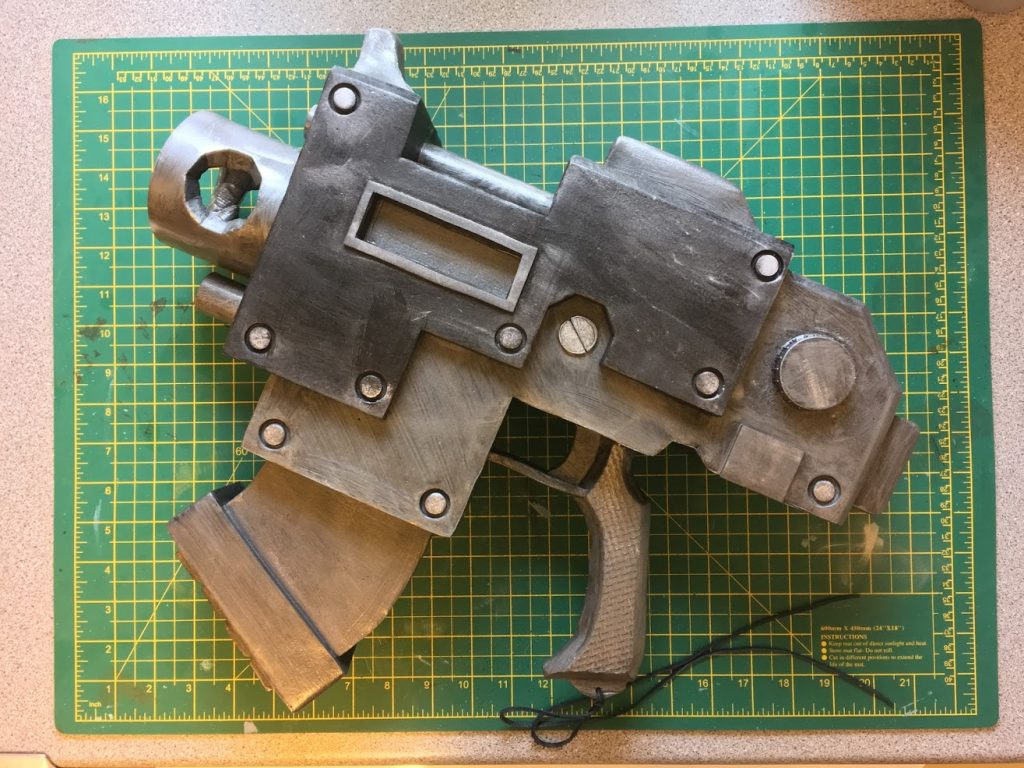 Building a Cosplay 40K Bolt Pistol – OK, three of them | Keep Grinning